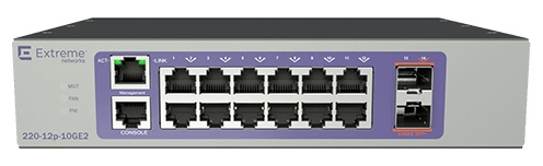 Extreme Networks ExtremeSwitching 210 12-port Switch
