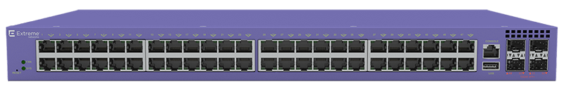 ExtremeSwitching V400-48t 48-port Edge Switch