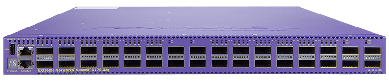 Extreme Networks ExtremeSwitching X770 32-port QSFP+ Switch